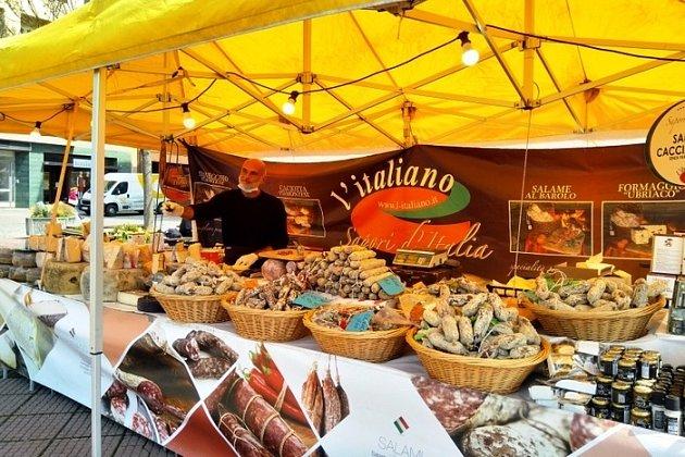Italské trhy ve Zlíně.