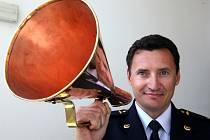 Tiskový mluvčí hasičů ve Zlíně Ivo Mitáček
