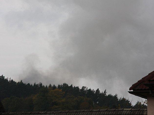 Výbuch skladu munice ve Vrběticích na Zlínsku