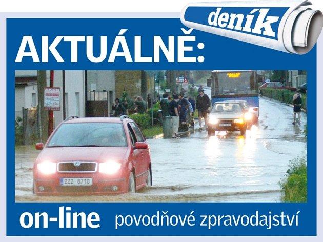Povodně ve Zlíně - Online zpravodajství.