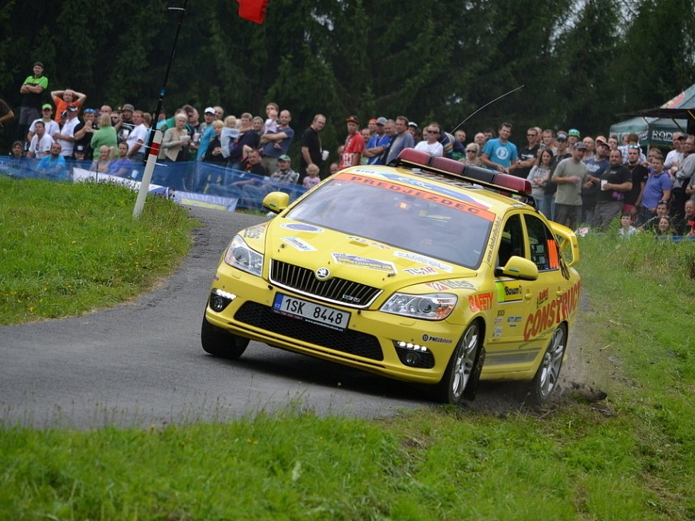 Barum Czech Rally Zlín - RZ 5 - Semetín 1