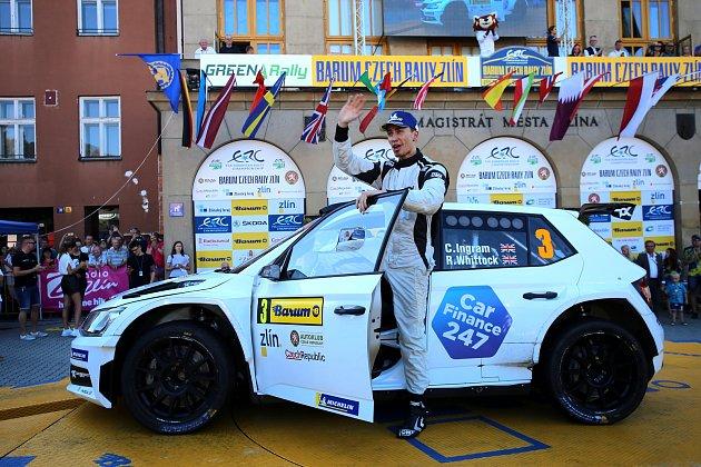 Barum Czech Rally Zlín 2019cíl Ch.Ingram