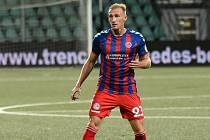 Bývalý fotbalista Zlína a Hradce Králové Miloš Kopečný nyní hostuje na Slovensku v Senici. Foto: facebook FK Senica