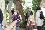 Na návštěvě v ZOO Lešná na Štědrý den