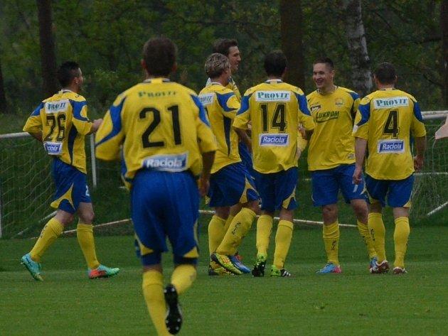Zlínští fotbalisté. Ilustrační foto