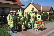 Děti ze smolinského domova opět vyrazily na Dubinu.