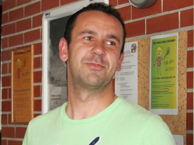 Racketlonista Michal Juřena