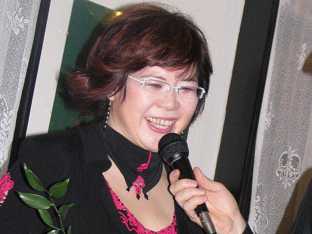 Sopranistka Nao Higano na archivním snímku