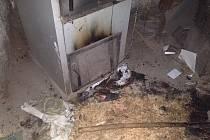 Požár v kotelně v Brumově-Bylnici.