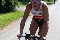 Petr Vabroušek si nejvíc věří v cyklistické části a závěrečném maratonu.
