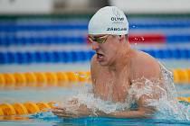 Dvacetiletý plavec Matěj Zábojník z Neubuze se poprvé přestavil na mistrovství Evropy.