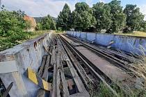 Ostudy Zlína: Železniční most Prštné
