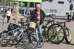 Den jízdních kol na náměstí Míru ve Zlíně