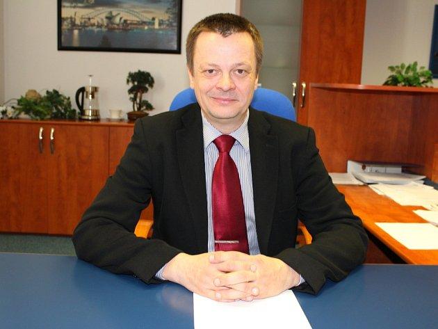 Ředitel Střední průmyslové školy Otrokovice Libor Basel.