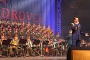 Koncert Alexandrovců ve čtvrtek 11. května 2017 v Zimním stadionu Luďka Čajky ve Zlíně.