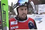 Elitní luhačovický skikrosař Jiří Čech letos ovládl Český pohár mužů.