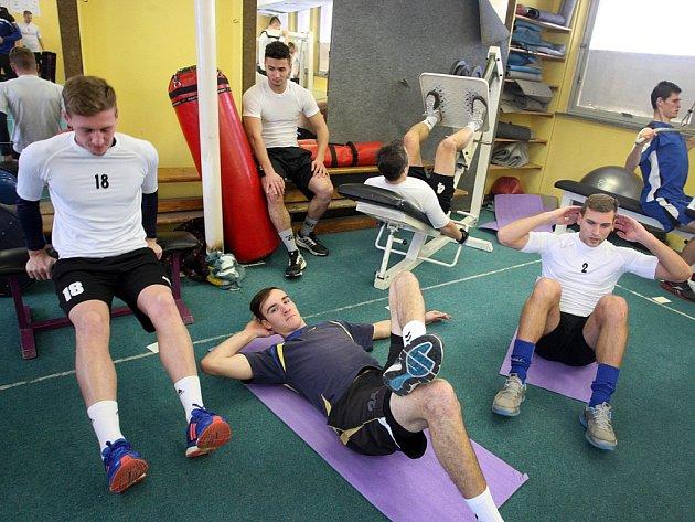 Příprava fotbalistů FC FASTAV Zlín .