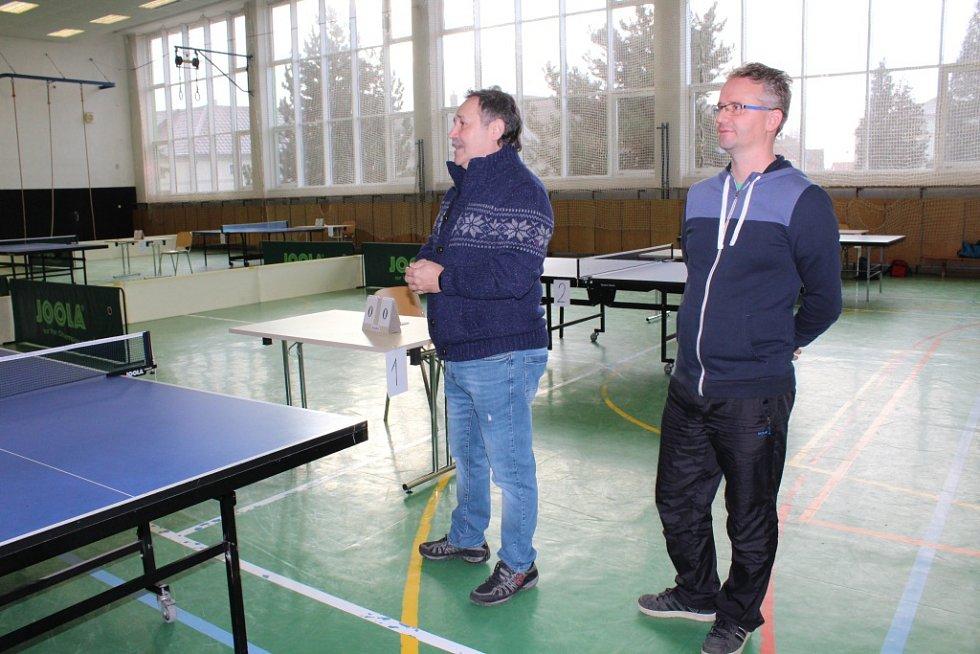 V Tlumačově se utkali ve stolním tenise