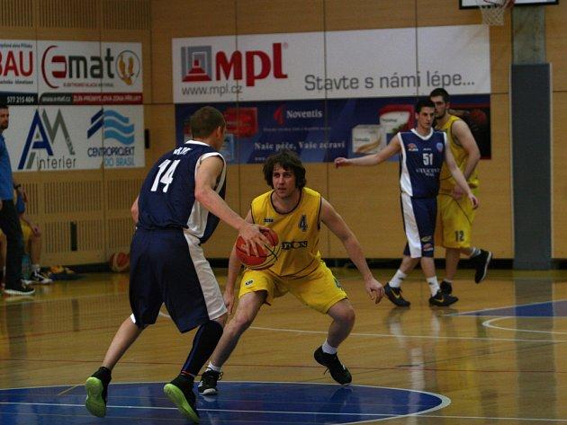 Zlínský basketbal. Ilustrační foto