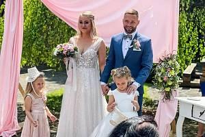 Fotbalista Fastavu Zlín Antonín Fantiš se o víkendu oženil. Foto: facebook Antonína Fantiše