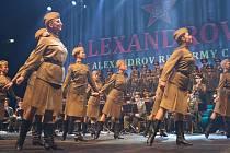 Obrovské ovace sklidili v sobotu 25. září světoznámí Alexandrovci. Na svém turné po České republice udělali zastávku i ve Zlíně, kde potěšili své fanoušky.