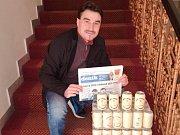 Vítězem podzimní části Tip ligy čtenářů Deníku a hlavní ceny v podobě nálože 100 piv Zubr Premium, českého piva roku 2016, se stal Jan Masař z Hulína.