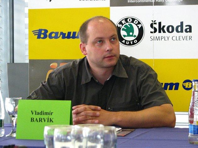 Jezdec Vladimír Barvík.