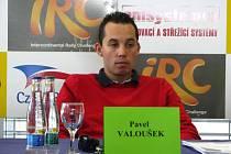 Pilot Pavel Valoušek.