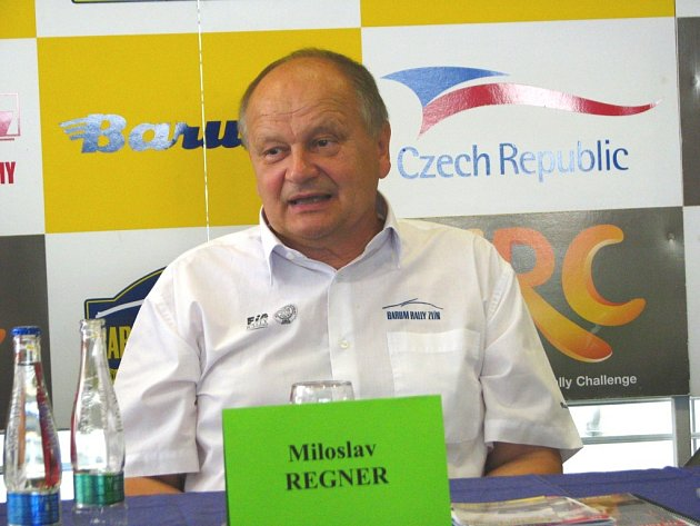 Ředitel Barum Czech rally Miloslav Regner.