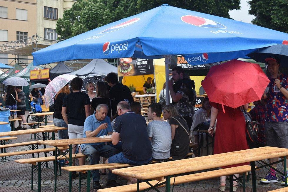 Zlínský Burger street festival, červen 2021