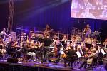 Rocksymphony 2015 filharmonie Bohuslava Martinů Marta Jandová a Jan Toužimský.  Generální zkouška.