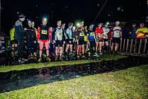 Noční běh na Rusavě 2016.
