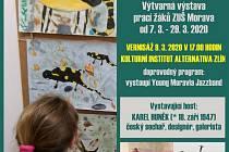 ZUŠ Morava zve na výstavu žáků
