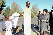 Odhalení busty TGM v Otrokovicích