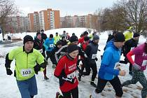 Běh Jižními svahy ve Zlíně 2017