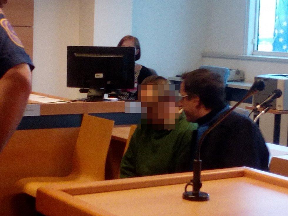 Obžalovaný u krajského soudu ve Zlíně.