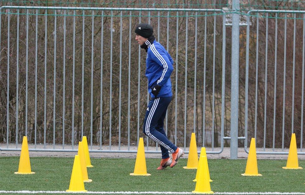 Zahájení zimní přípravy fotbalistů Zlína na Vršavě