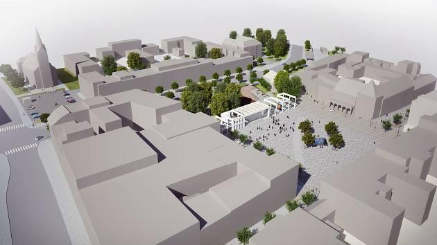 Jak bude vypadat náměstí Míru ve Zlíně  Bude i velké parkoviště c22df5c2a1