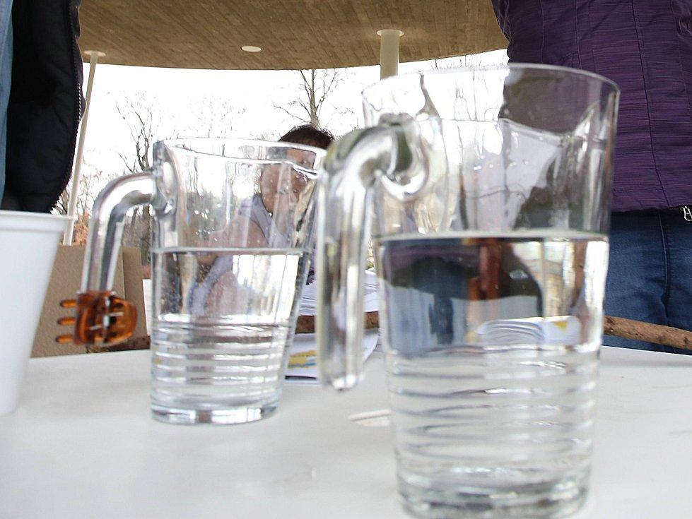 Akce Den vody v parku Komenského ve Zlíně. Ilustrační foto
