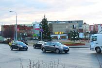 Otrokovické náměstí. Ilustrační foto