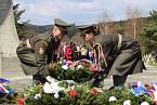 V osadě Ploština, která spadá do katastru obce Drnovice, si v neděli 19. dubna 2015 připomněli přesně na den 70. výročí od jejího vypálení německými okupanty. V plamenech tam našlo smrt 24 obyvatel. Památku obětem druhé světové války tam uctili na pietním