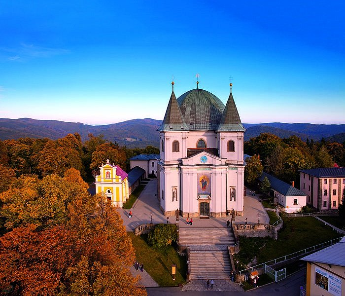 Bazilika Nanebevzetí Panny Marie - Svatý Hostýn