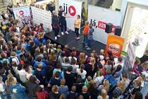 Do Zlína dorazili populární youtubeři