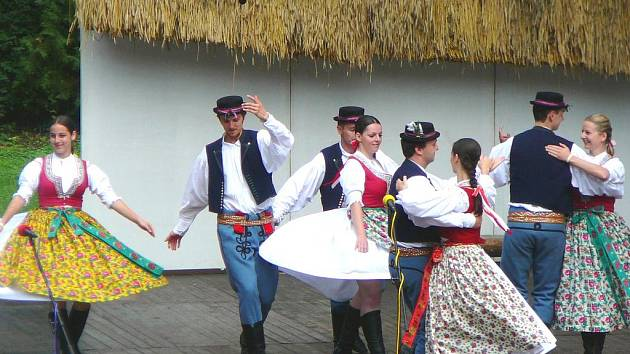 Valašský soubor Kašava.