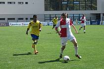 Zlín B – Orlová, fotbal MSFL