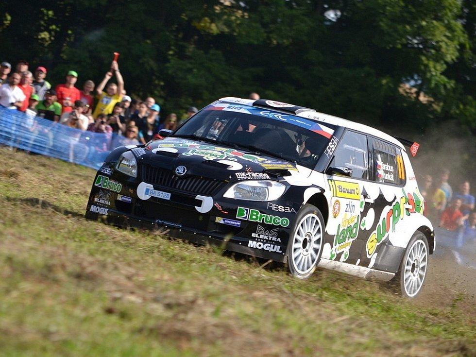 Barum Czech Rally Zlín - RZ Slušovice 1