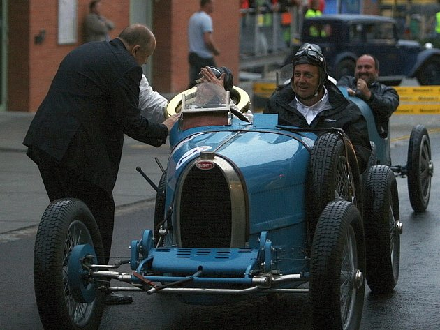Barum rally: Bugatti Grand Prix