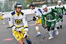 hokejbal 1. liga Malenovice - Hostivař