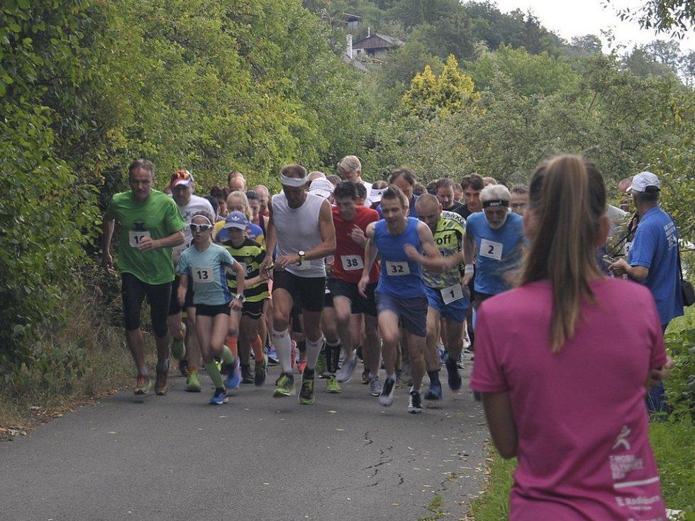 Běh na 2 míle ve Zlíně, červenec 2018