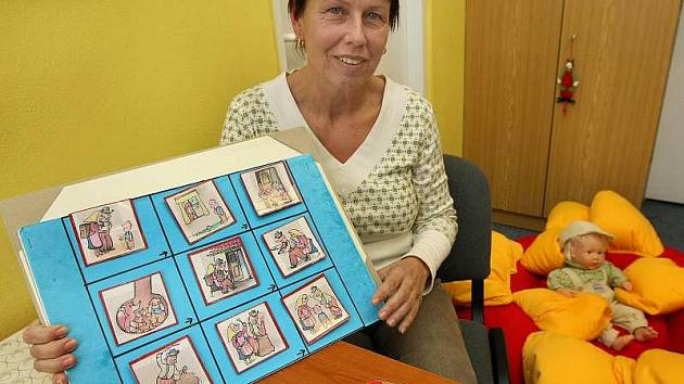 Dagmar Machová, jedna ze zakladatelek zlínského občanského sdružení Educo, které pomáhá rodičem a jejich postiženým dětem.